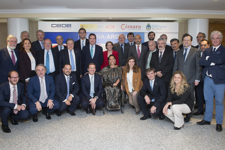 CEOE: Argentinian Vice President encourages Spanish entrepreneurs to invest in the country