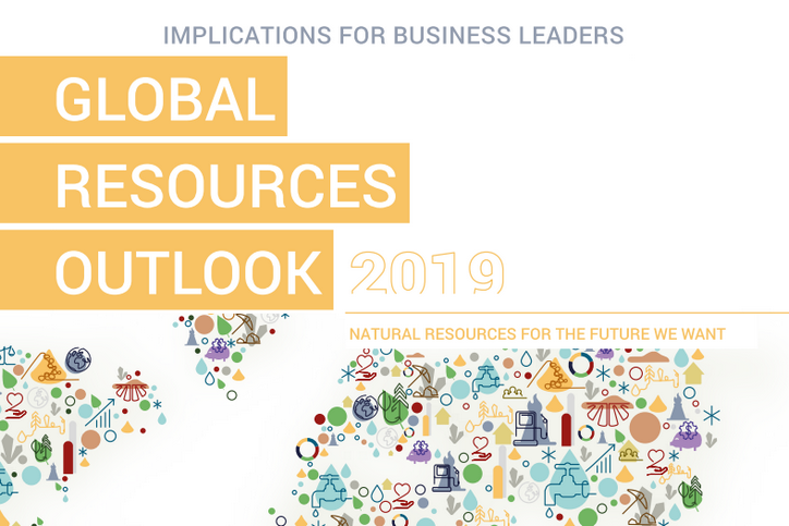 UNEP IRP: Global Resources Outlook 2019