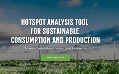 UNEP-IRP: New 'hotspots' tool pinpoints unsustainable consumption & production