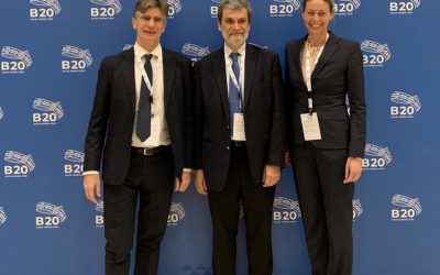 GBC members participate to the B20 Inception event in Riyadh