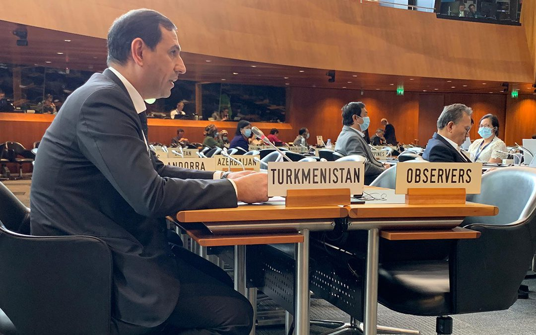 Turkmenistan is granted the observer status in the WTO